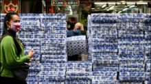 Bewaffnete Räuber klauen hunderte Klopapierrollen in Hongkong