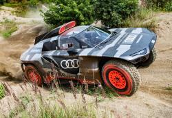 Audi hopes its off-road hybrid will win the 2022 Dakar Rally