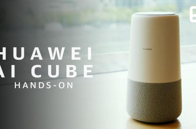 Huawei's Google Home clone has Alexa inside