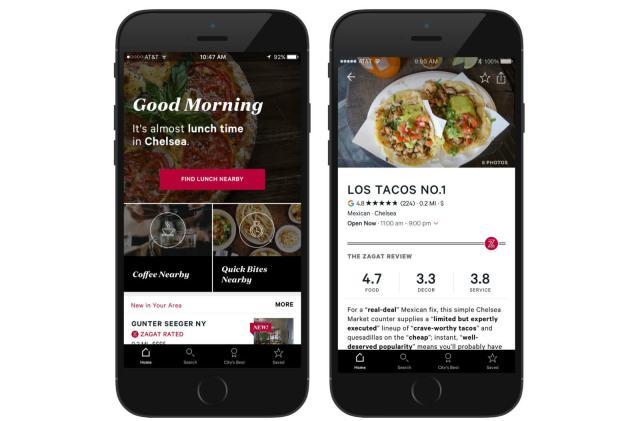 Google sells restaurant review service Zagat