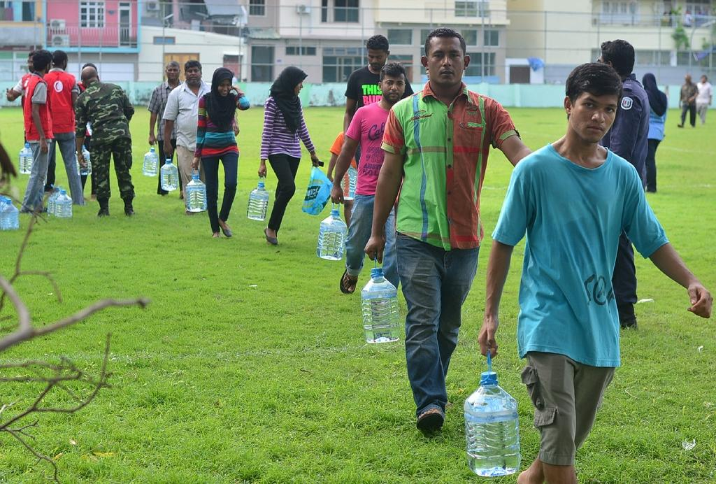 More than 90 percent of desalination plants are in wealthy economies (AFP Photo/HAVEERU)