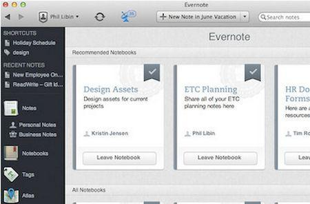 Evernote releases Evernote Business