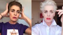 Antonia Dell'Atte, casi irreconocible con su nuevo look