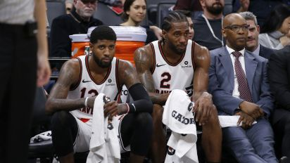Kawhi Leonard and Paul George's 'preferential treatment' is reportedly bugging teammates