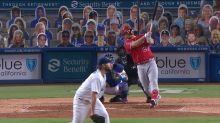 Mike Trout's first HR off Kershaw