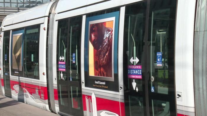 A Lyon, les œuvres des musées de la ville prennent le tramway