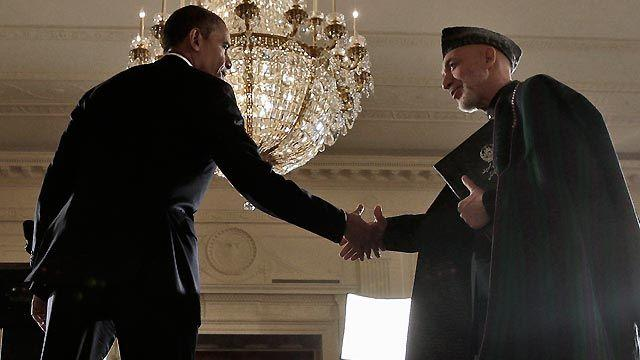 Inside President Obama's meeting with Afghan leader Karzai