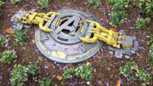 Mystery 'Avengers hatch' is found at Disneyland