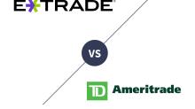 E*TRADE vs. TD Ameritrade 2019