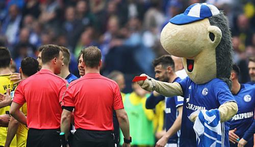 Bundesliga: Schalker Maskottchen wehrt sich