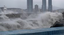 Typhoon lashes South Korea after battering Japanese islands