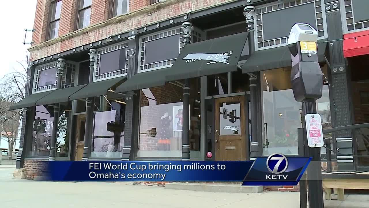 FEI World Cup bringing millions to Omaha\'s economy [Video]