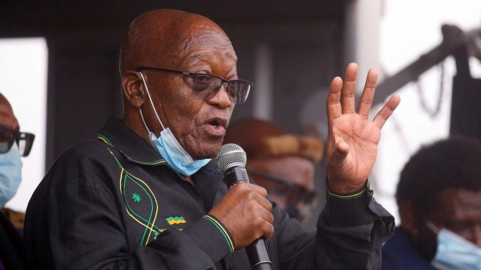 Jacob Zuma: South Africa's ex-president eligible for parole in months