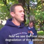 Russian Opposition Leader Alexei Navalny Released From Jail After Serving Time for Leading Protests