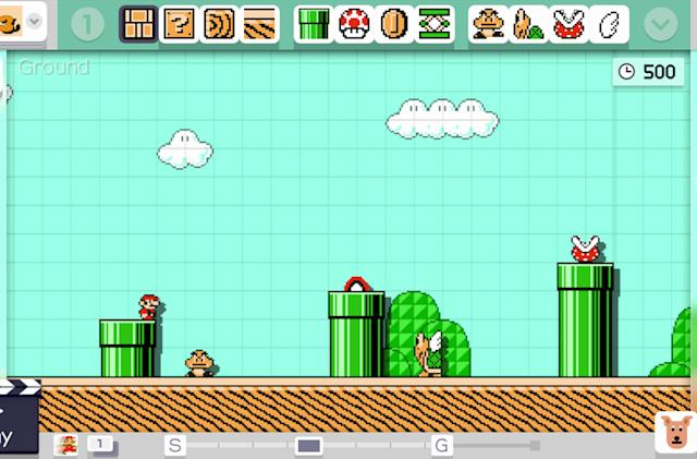 Nintendo will wind down 'Super Mario Maker' for Wii U on March 31st