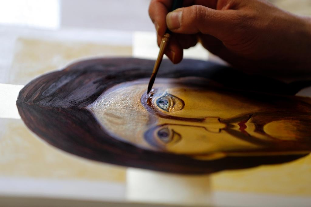 Bethlehem at centre of a revival of Christian sacred art iconography (AFP Photo/THOMAS COEX)