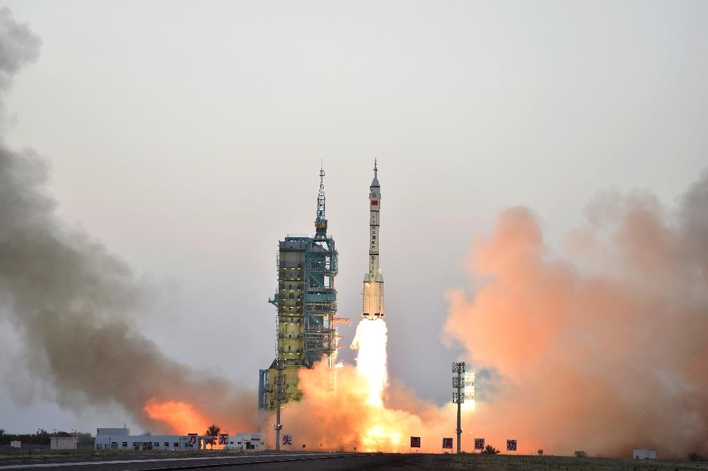 """China state media says the launch of a CO2 monitoring satellite will give the country a """"louder voice"""" in future carbon reduction negotiations"""