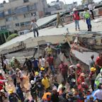 WATCH: Heroic Rescue of Children Trapped in Rubble After School Collapses from Deadly Mexico Earthquake