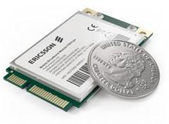 Ericsson's new mobile broadband modules: one for Oak Trail tablets, one supports remote kill