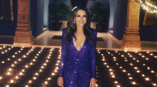 Elizabeth Hurley wears plunging dress for New Year's and fans are obsessed