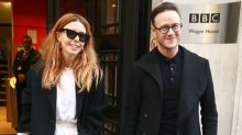 'You're wicked even though you're second out': Stacey Dooley's message of support for 'Strictly' boyfriend Kevin Clifton