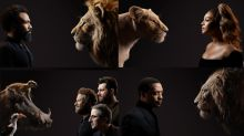 New 'The Lion King' portraits prompt roars of laughter online