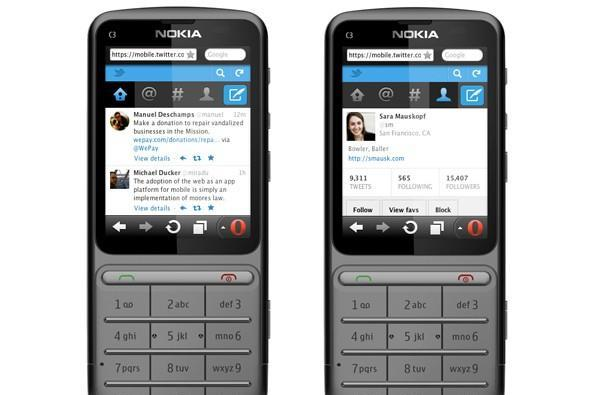 Twitter makes its mobile site more feature phone friendly