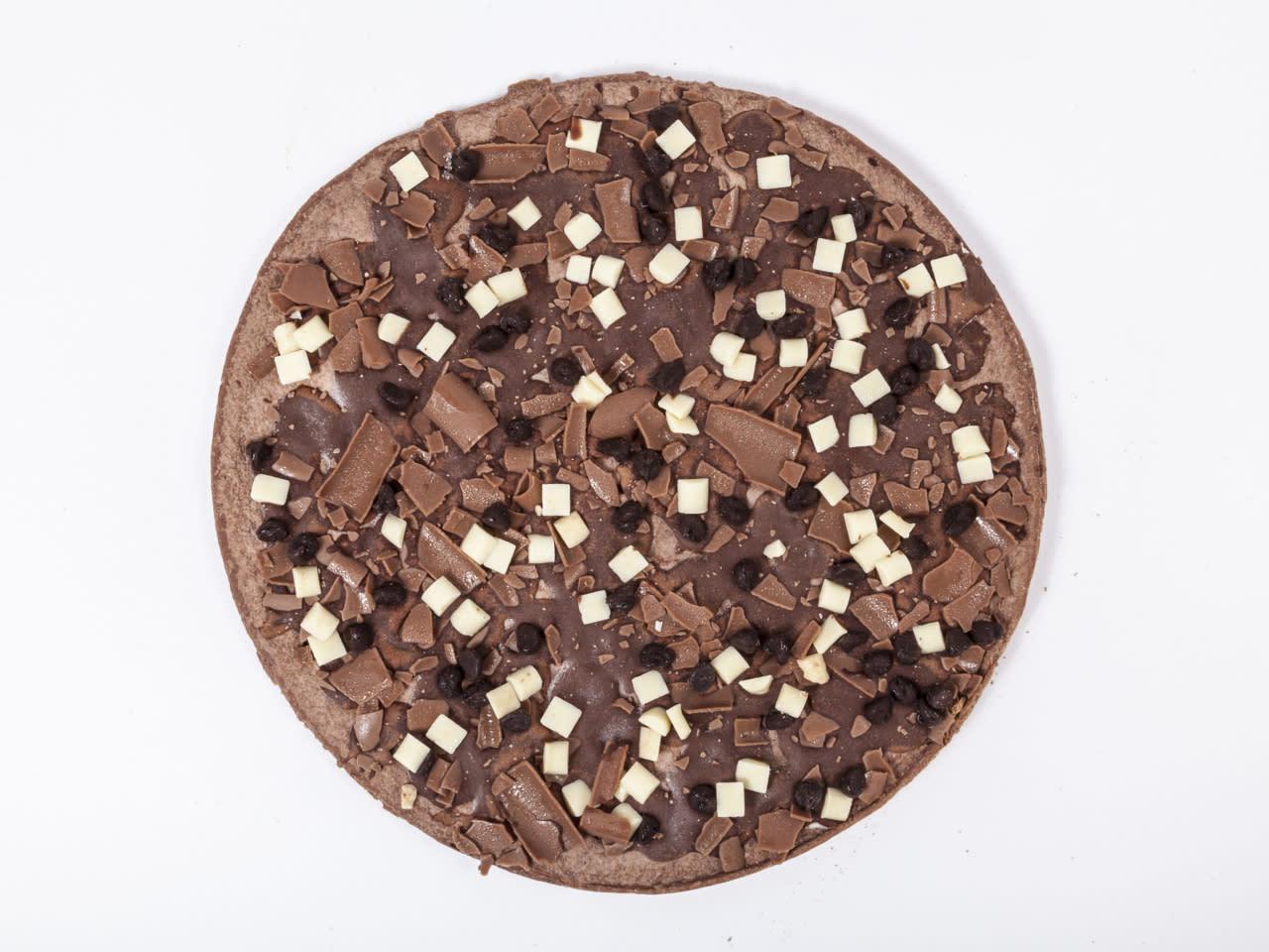 Dr. Oetker Schokoladenpizza