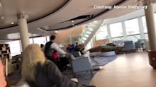 Storm and engine failure causes chaos on Norway cruise