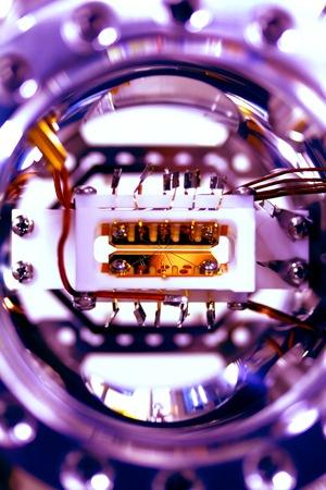 The new quantum computer is made up of just five bits of quantum information (qubits).