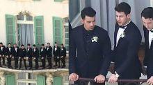 Joe Jonas Had a Regal Balcony Moment at Wedding to Sophie Turner
