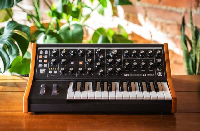 The Moog Subsequent 25 offers classic synth bass with modern amenities