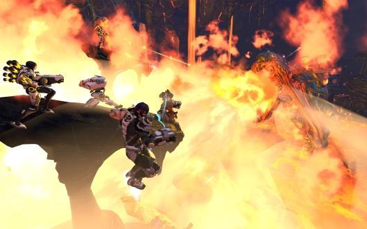 Firefall brings multiple raids to launch [Updated]