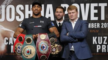 Joshua's star power will be put to the test