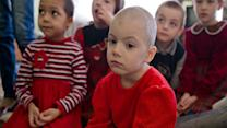 AP Exclusive: Children in Ukraine's War Zone