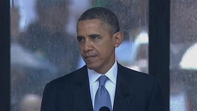 Obama at Mandela Memorial: 'His Triumph Was Your Triumph'