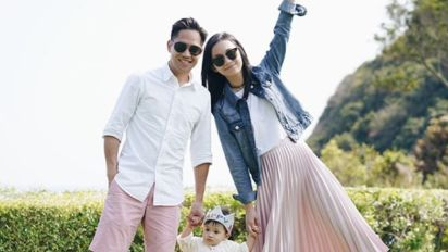Miki Yeung enjoys being a mother