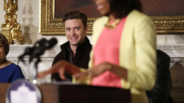 Michelle Obama, Justin Timberlake host music workshop at the White House
