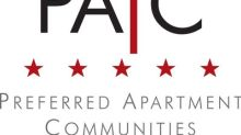 Preferred Apartment Communities, Inc. Names Joel T. Murphy Chief Executive Officer, effective January 1, 2020
