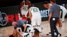 Basket - NBA - NBA: Giannis Antetokounmpo à nouveau touché à la cheville