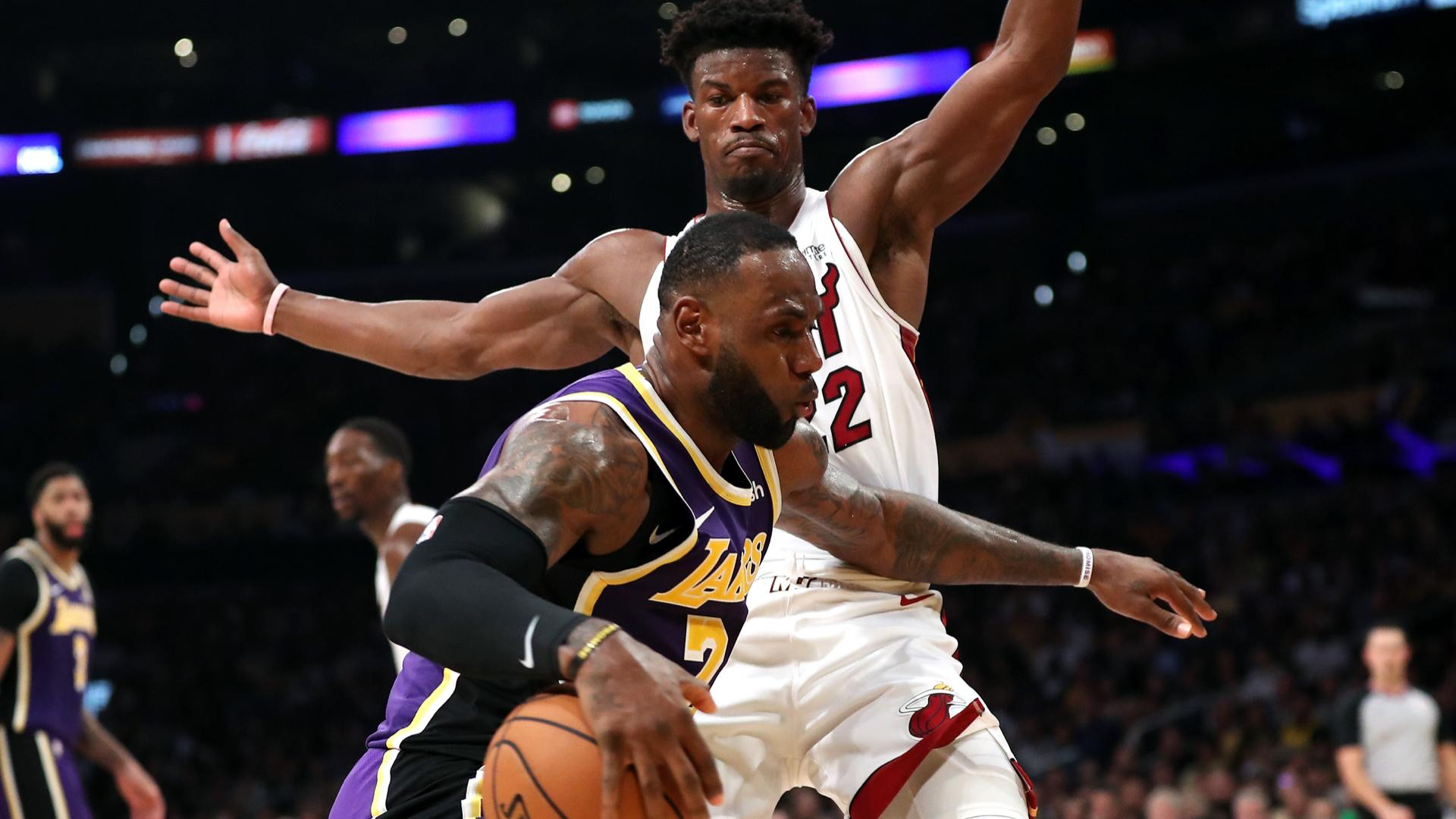 What channel is Lakers vs. Heat on today? Time, TV schedule