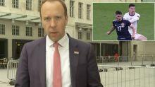 Matt Hancock flounders over isolation rules for footballers – 'Euros bringing so much joy'