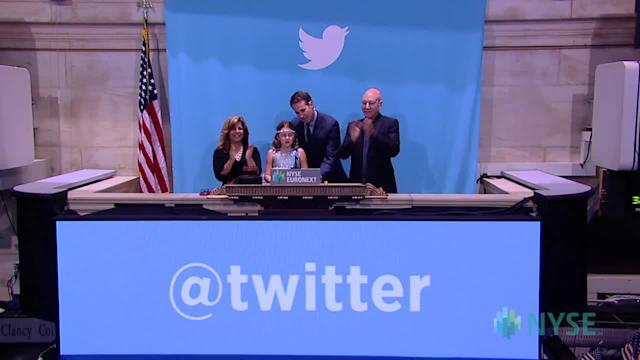 Twitter celebrates completion of IPO at NYSE