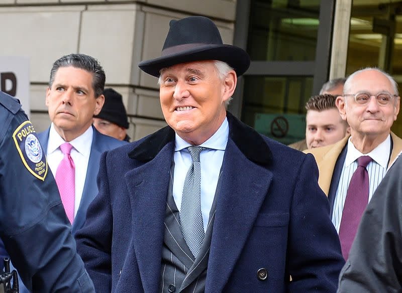 Judge Overseeing Roger Stone's Case Argues That She's Not Biased