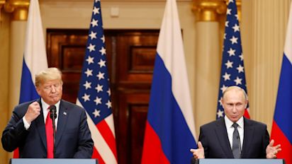Trump-Putin summit: How presidents put Cold War past behind them to put on a united front