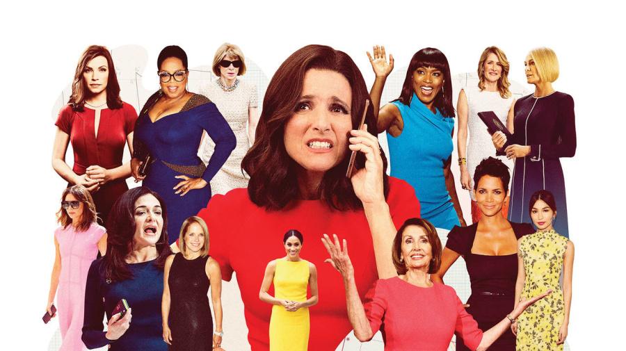 最有權勢的商界女性都愛穿連身裙