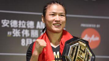 UFC champ: Jedrzejczyk needs to wait her turn