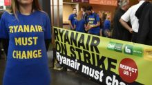 Ryanair base closures accused of being a 'declaration of war' by unions after strikes
