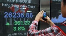 Hong Kong, China stocks climb; HSBC surges as investors buy shares beaten to record low as bank is dragged into Huawei fight
