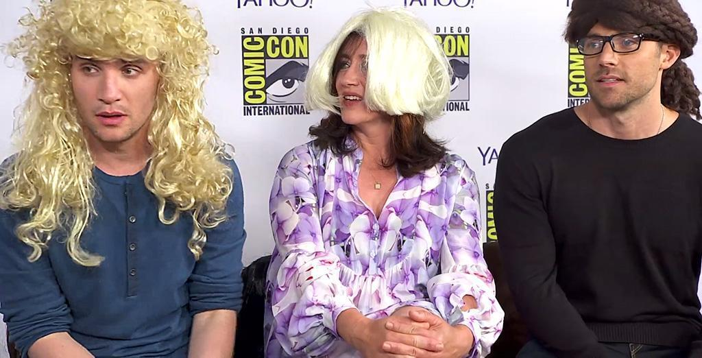 Orphan Black Theater The Cast Puts On Wigs Imitates Their Favorite Clones